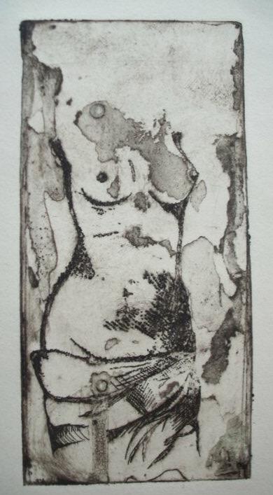Venus. 11_ x 14_. Copper etching on paper. .jpg