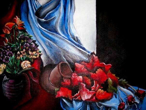 Still Life Study. 18_ x 24_. Acrylic on Canvas..jpg