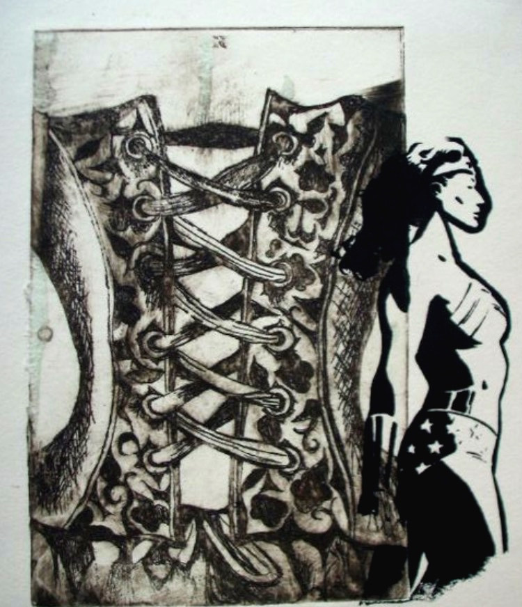Untitled. 11_ x 14_. Copper Plate Etching and Silkscreen on Paper. .jpg