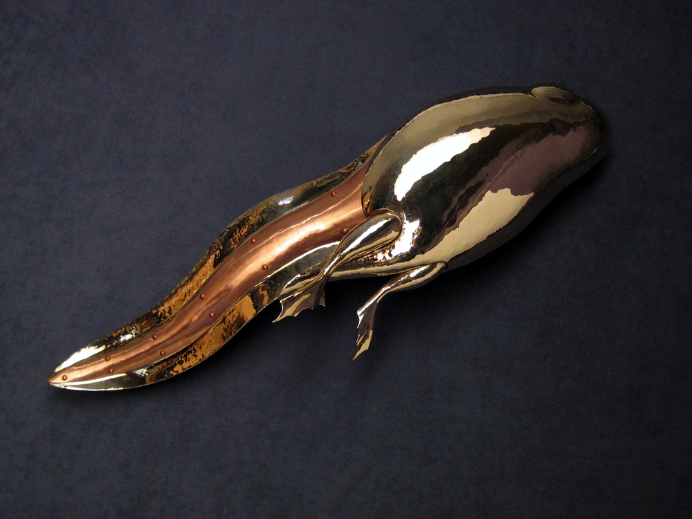 Acclivity.  Copper and Brass. 2010.