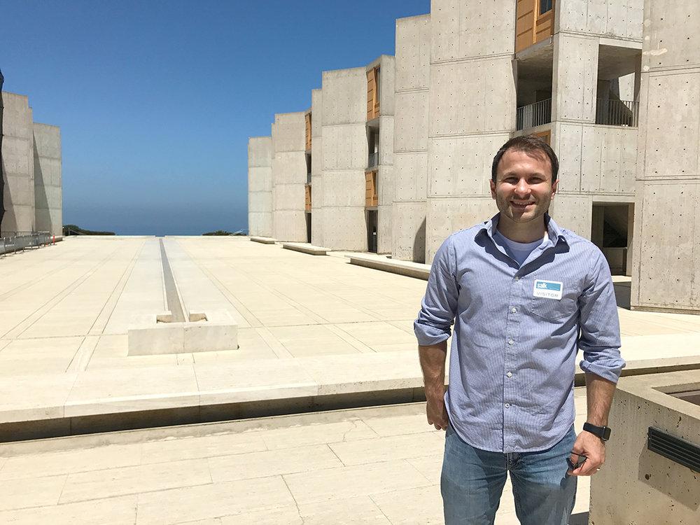 Visiting the Salk Institute