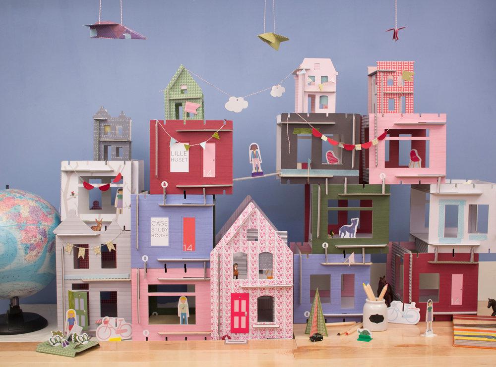 Lille Huset Dollhouses - designer as entrepreneur