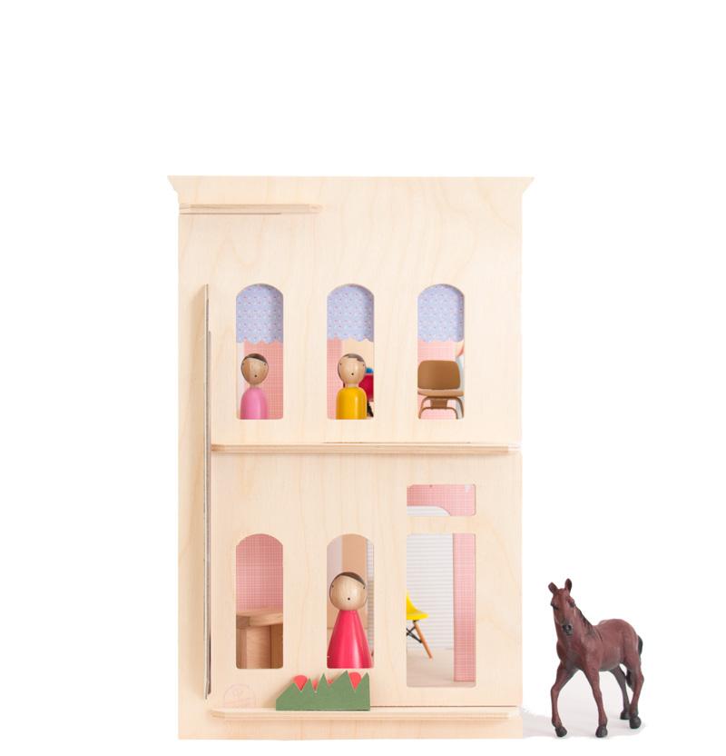 Lille Huset Chelsea Wooden Dollhouse