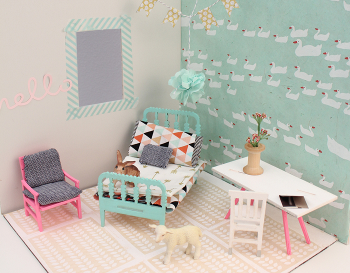 Lille Huset Rooms // stemmed from Nickelodeon collaboration