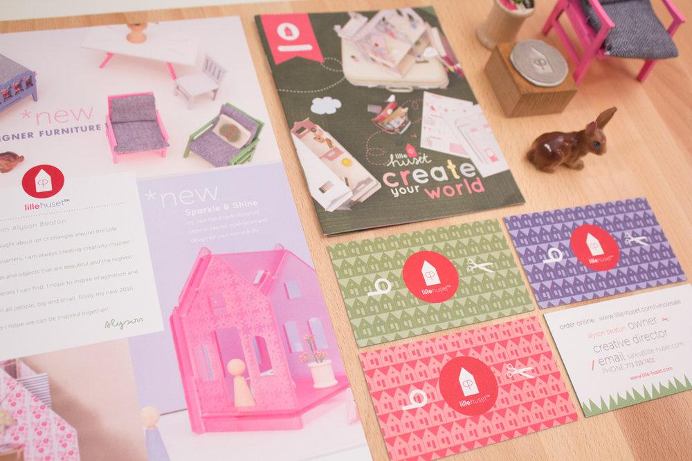 Lille Huset   Founder - Branding   Environmental Graphics