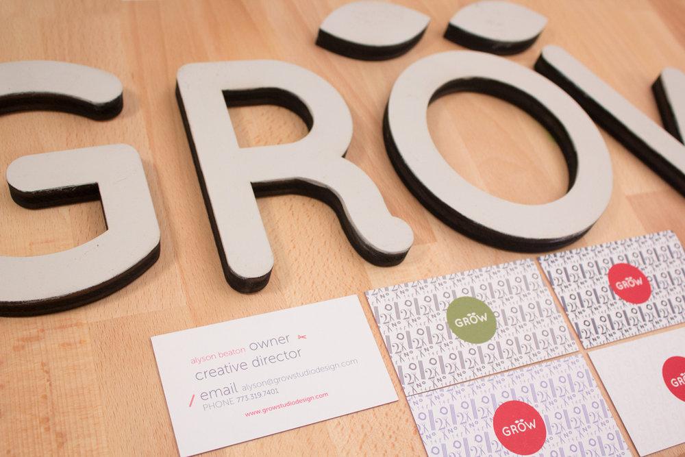 Grow Studio   Founder - Branding   Graphics   Environmental Graphics