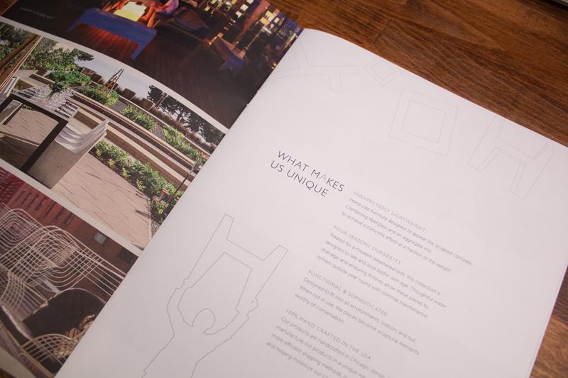 Zachary A. Design - Furniture Company Branding   Environmental Graphics
