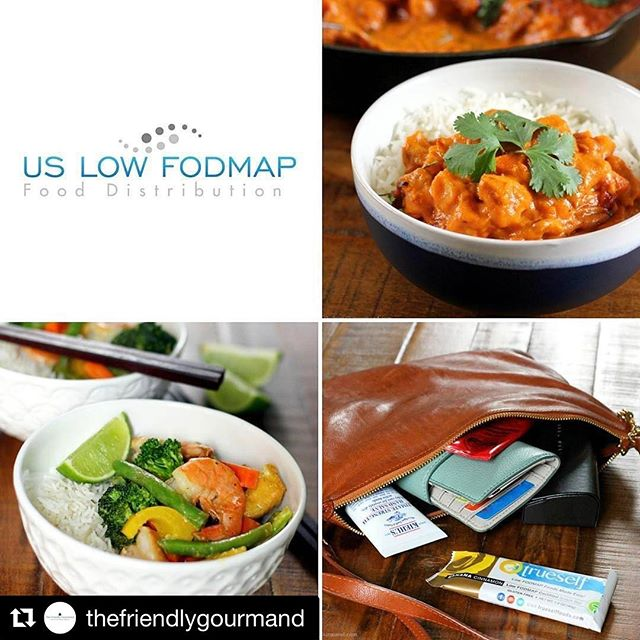 What a beautiful post and great recipes from @thefriendlygourmand Go check out her blog! You are in for a treat!  #Repost @thefriendlygourmand (@get_repost) ・・・ Happy FODMAP Friendly Friday, guys! I've just posted an interview with the lovely founder of @uslowfodmap Randi Stecki, who was kind enough to send me a few certified #lowfodmap and #glutenfree products to try out.  #ad - All opinions are my own. 😊  #lowfodmapdiet #fructosemalabsorption #fructosefriendlyfriday #fructosefriendly #fodmapfriendlyfriday #fodmapfriendlyfood #lowfodmapblogger #glutenfreeblogger #seattlefoodblogger #melbournefoodblogger #butterchicken #greencurry #snackbar #lowfodmapusa #onthetable #beautifulcuisines #inmybag #curry #fodmappedforyou #trueselfbars #thefriendlygourmand #natfriendly  #IBS #ibsfriendly #healthy #quickandeasydinner