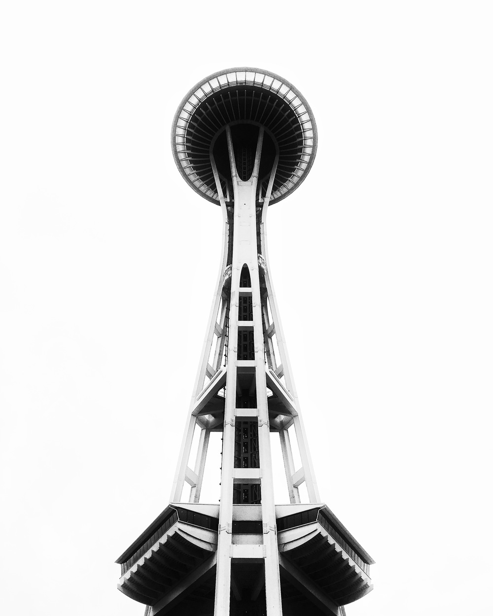 7/8 Photo: Space Needle. Fun fact it is not the highest point in Seattle in which to get a view, but it certainly is expensive!