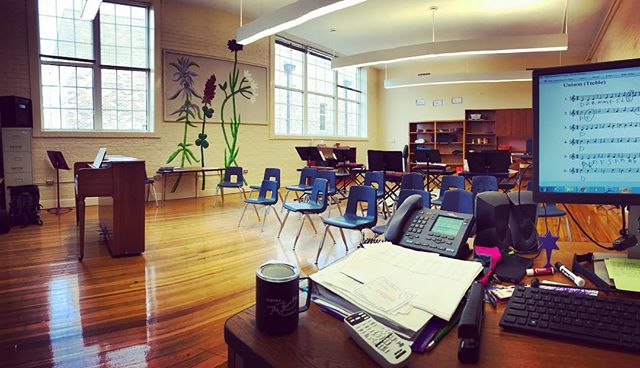 So I recently got an awesome day job. I am teaching vocals in the Magnet Music class at Caldwell Elementary! It's an honor to be apart of an Arts Magnet program with driven students and extremely friendly faculty. #star
