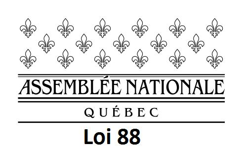 Assemblée Nationale du Québec - Loi 88