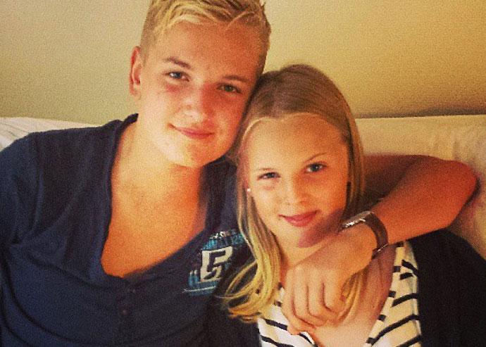 Jag och min syster på NÄL.