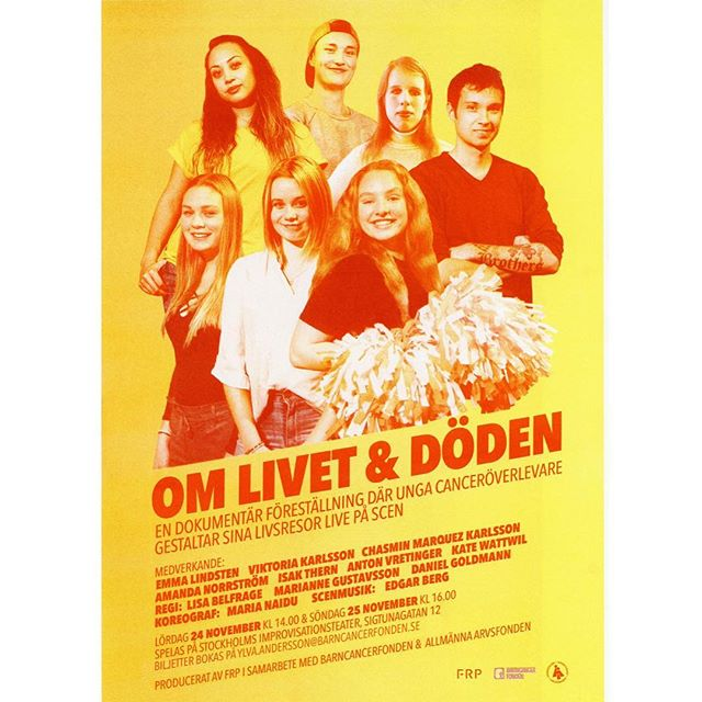 NU ÄR VI TILLBAKA!🌟 -  Här är vi som byggt upp tredje årets föreställning. Efter ett långt uppehåll har vi på senaste tiden arbetat intensivt för att kunna bjuda er på en unik teaterupplevelse... -  Nu är det äntligen PREMIÄR - detta vill ni inte missa!  Hoppas att vi ses den 24 och 25 november i Stockholm eller den 8 och 9 december i Malmö 🙌 - 💥VI ÄR REDO, ÄR NI?💥 -  Anmälan till föreställningarna i Stockholm görs till Ylva.andersson@barncancerfonden.se
