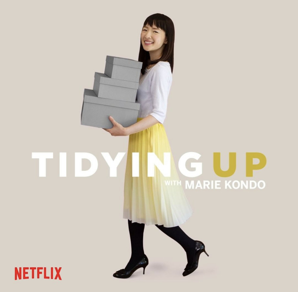Photo taken from Marie Kondo's Instagram