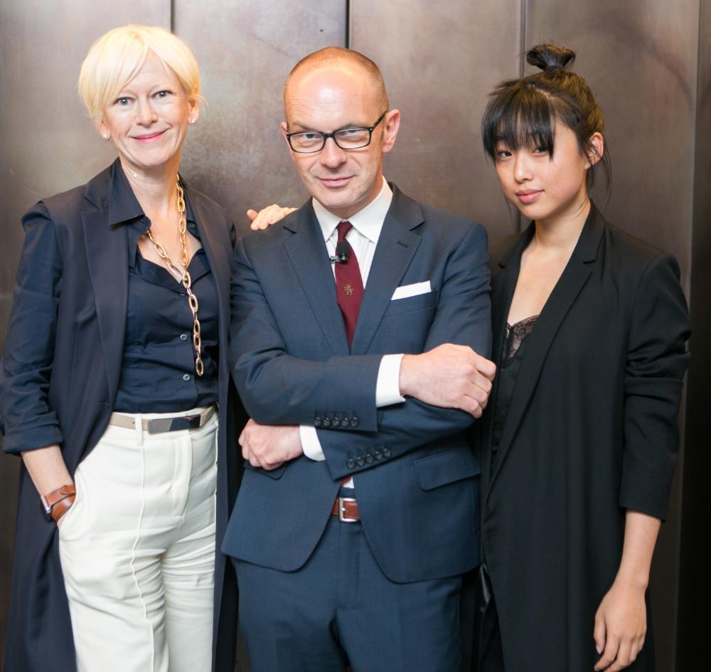Joanna Coles, Simon Collins, Margaret Zhang