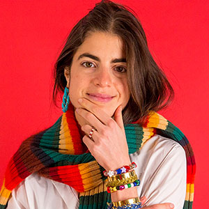 LEANDRA MEDINE  MAN REPELLER Founder