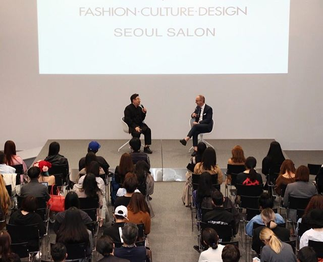 At the FCD Seoul Salon, Simon Collins talked with Jung Kuho, executive director of Seoul Fashion Week, designer, and Parsons grad on what it means to be a New Renaissance Creative #sfw #seoulfashionweek #parsons #fashion #culture #design