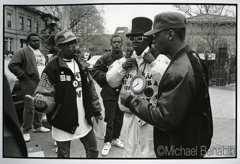 Director Spike Lee & Public Enemy