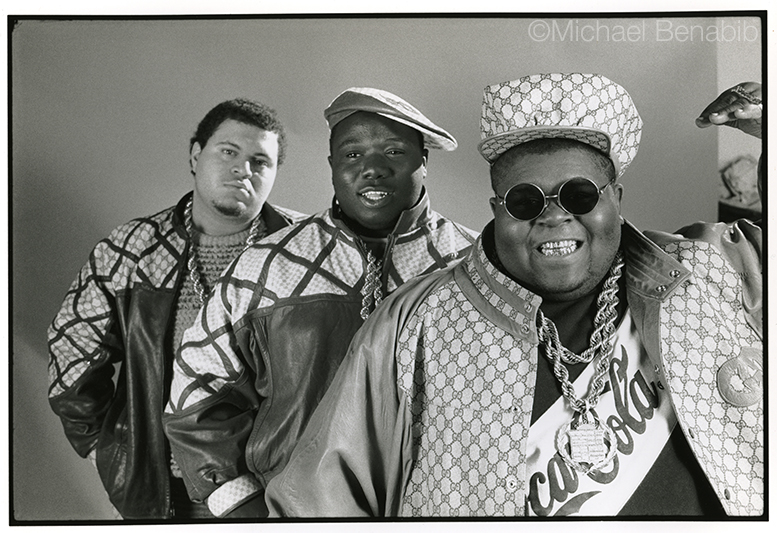 The Fat Boys B&W