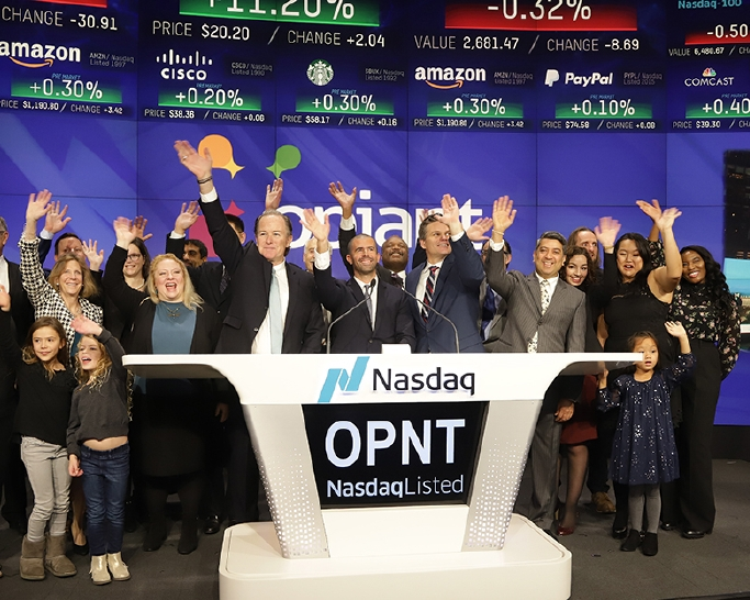 OPNT Nasdaq corporate event photography by New York corporate photographer Michael Benabib.JPG