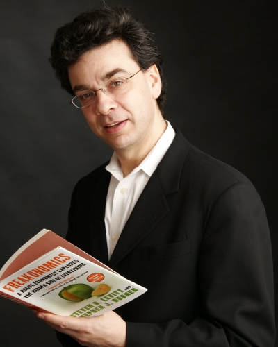 Freakonomics author Stephen J. Dubner