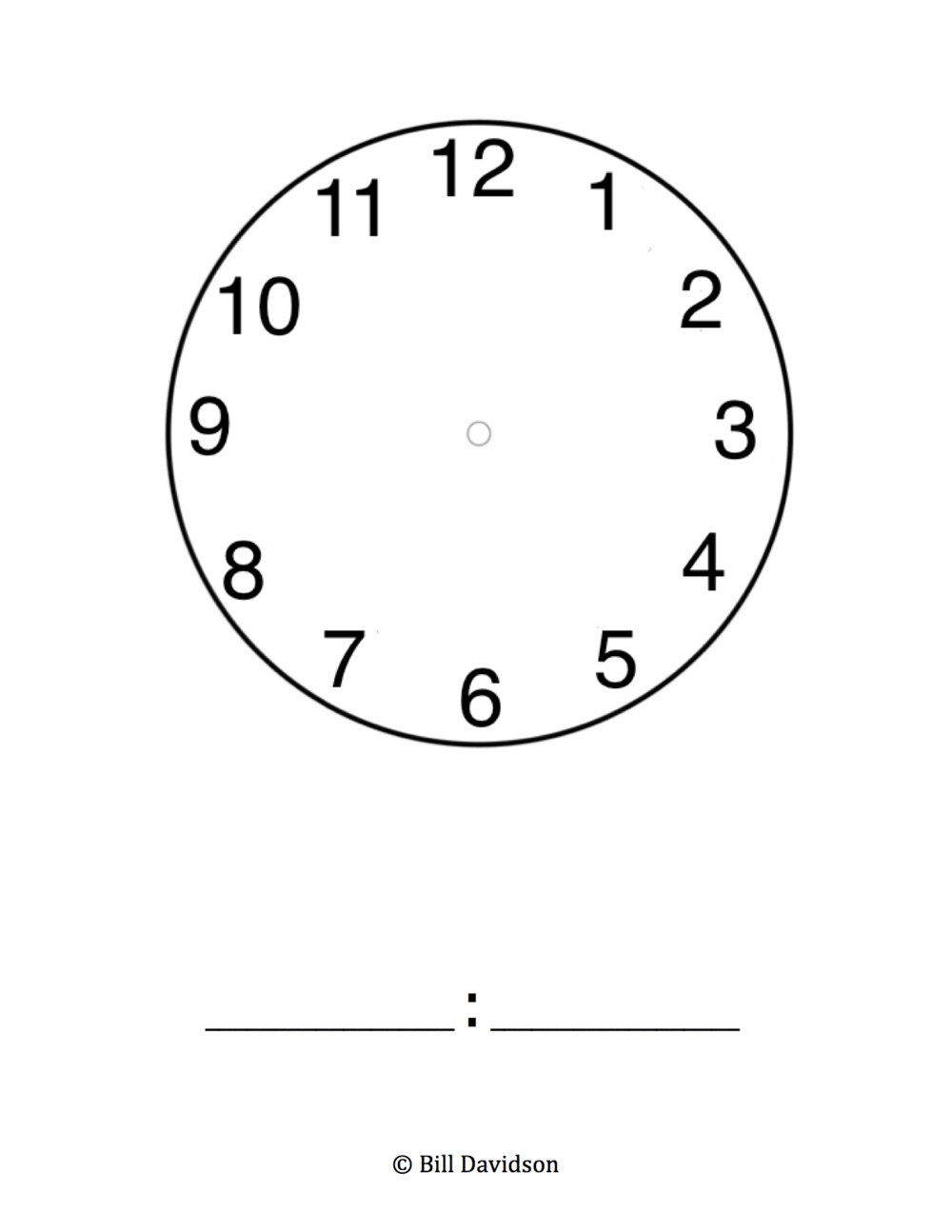 Analogdigital Clock Insert