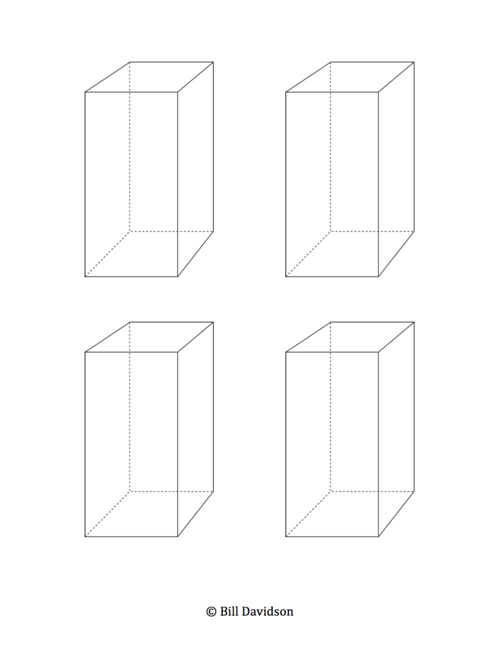 blank surface area worksheet templates the davidson group