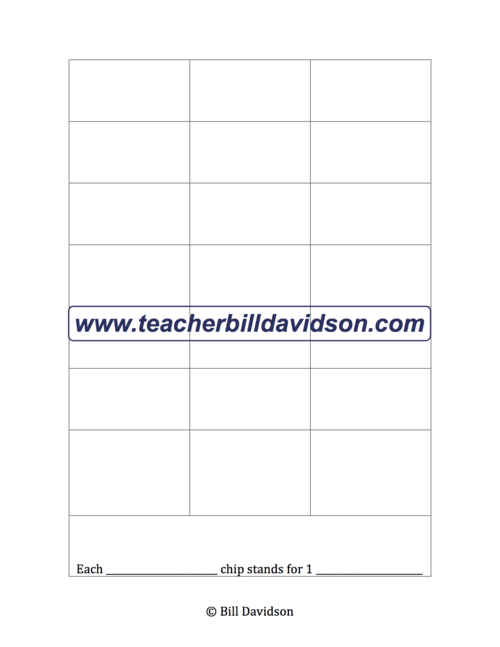 Blank Graph Template The Davidson Group