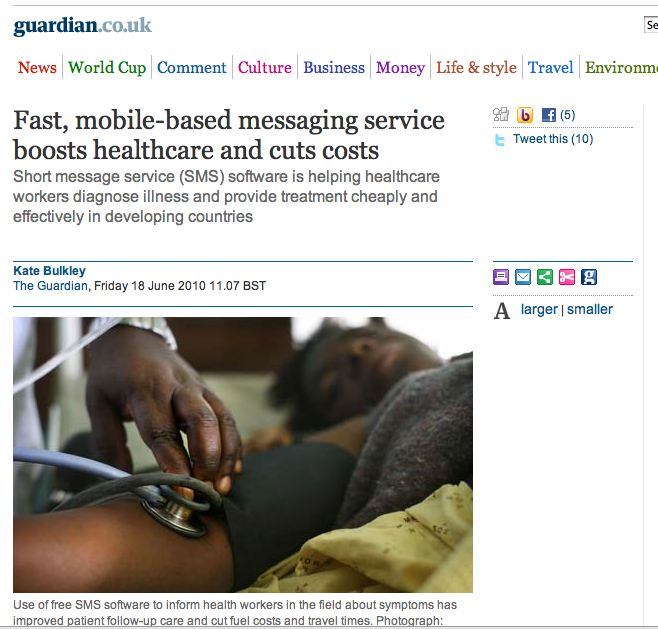 Guardian: Fast mobile-based messaging service boosts