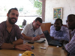 Sharing stories about FrontlineSMS use in Haiti