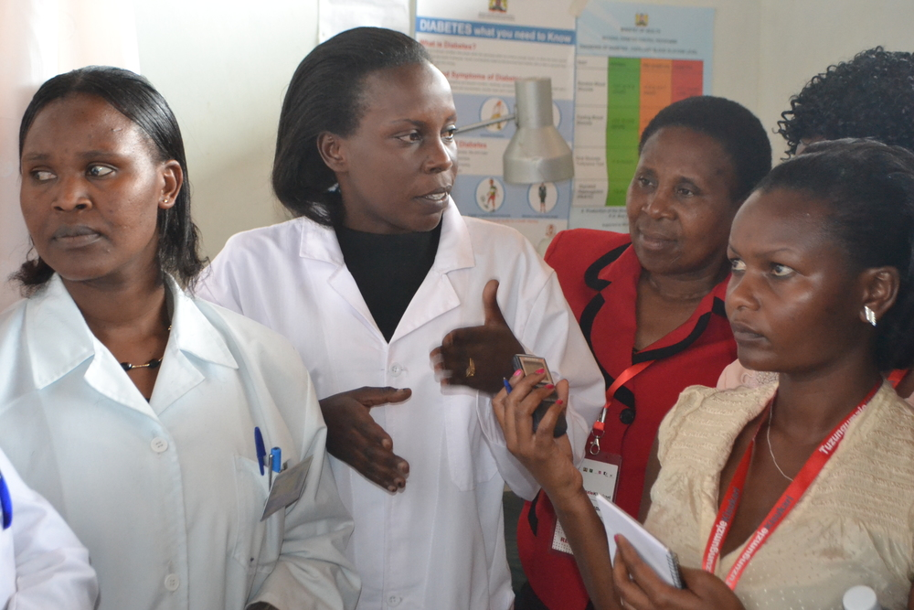 Field Trip to Rift Valley Provincial Hospital, Nakuru