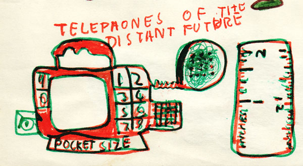 """The Mobile Phone 1974"" (c) Chris Limb. Used under Creative Commons License (CC BY 2.0) Original at: https://www.flickr.com/photos/catmachine/3826156707"