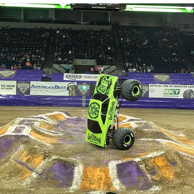 This last weekend was my last weekend as an AV manager with Monster Jam. Tomorrow I head to Houston to start my new journey as a Production Stage Manager... excited for my new challenge and for all the future has in store. #monsterjam #gasmonkeygarage
