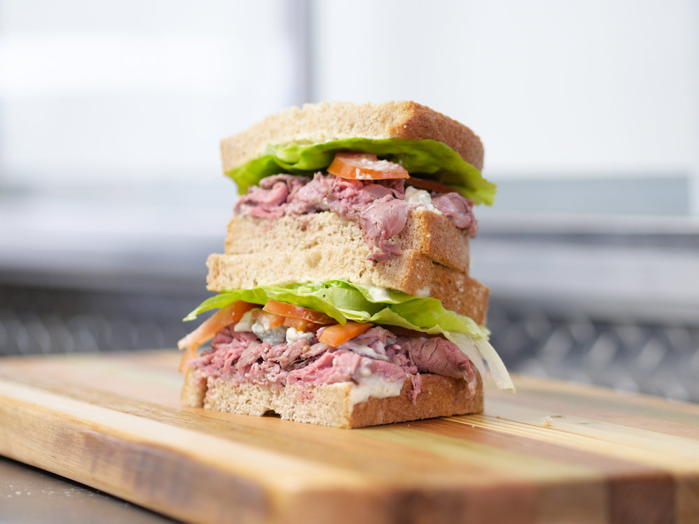 Signature sandwiches made with pasture-raised meats & locally-produced breads and cheeses. -