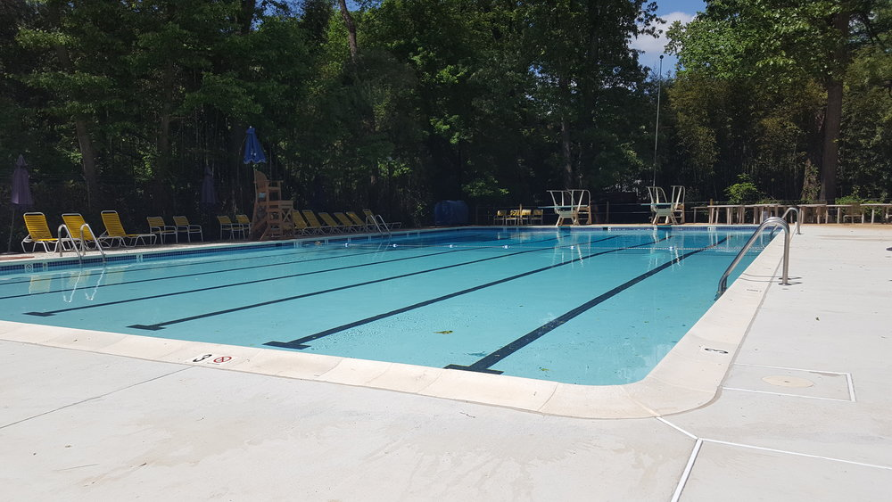 Lower Pool with New Deck