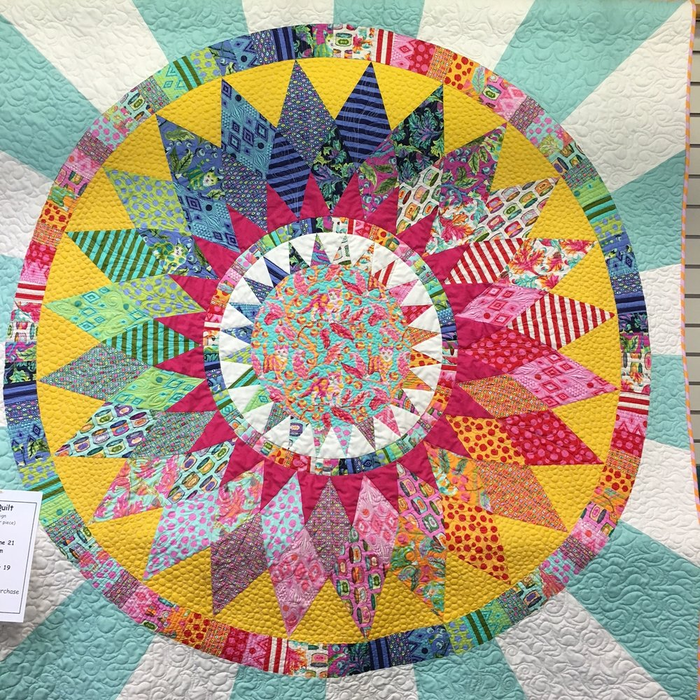 Come in for the final class for this quilt!
