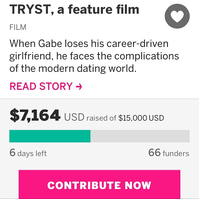 SO CLOSE TO 50%! We're officially filming! Help us make it even better - 6 days left!!