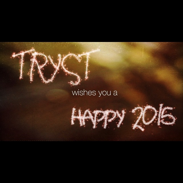 HAPPY NEW YEAR! What're your goals of 2015?  Ours: to reach $15,000 and make our film! WE'RE ALMOST THERE-  www.indiegogo.com/projects/tryst-a-feature-film