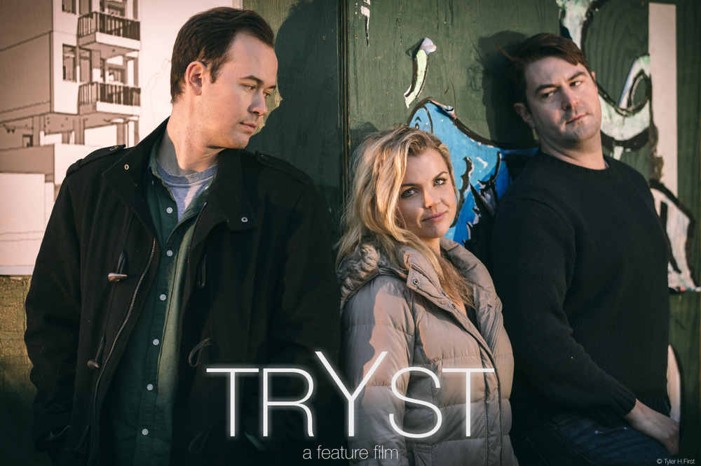 Joe Mullen as LUKE, Andrea Boehlke as STEPH and Peter John Wallace as JACK. Like us here on FB, https://www.facebook.com/trystmovie, and keep you ear tuned for some Test-footage coming your way next week.