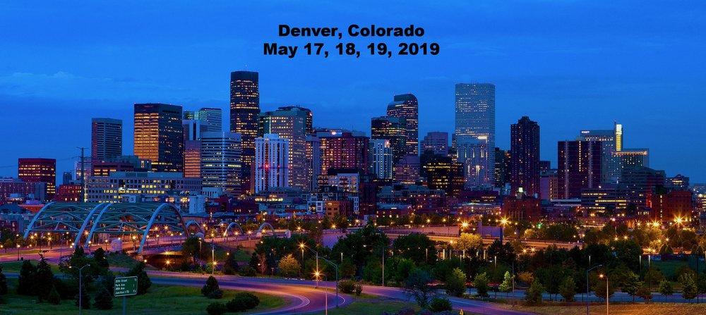 Denver, CO May 17, 18, 19, 2019