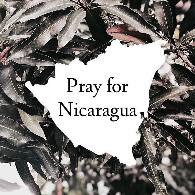Please join us right now in prayer for the department of Masaya. Pray for protection for all of the people in Nicaragua and for the violence to cease. Check your local news, the link in bio, and utilize your search engines to understand more on the situation in Nicaragua.  #sosnicaragua #orapornicaragua