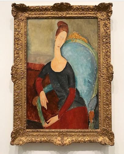 Modigliani Jeanne Hebuterne, 1918
