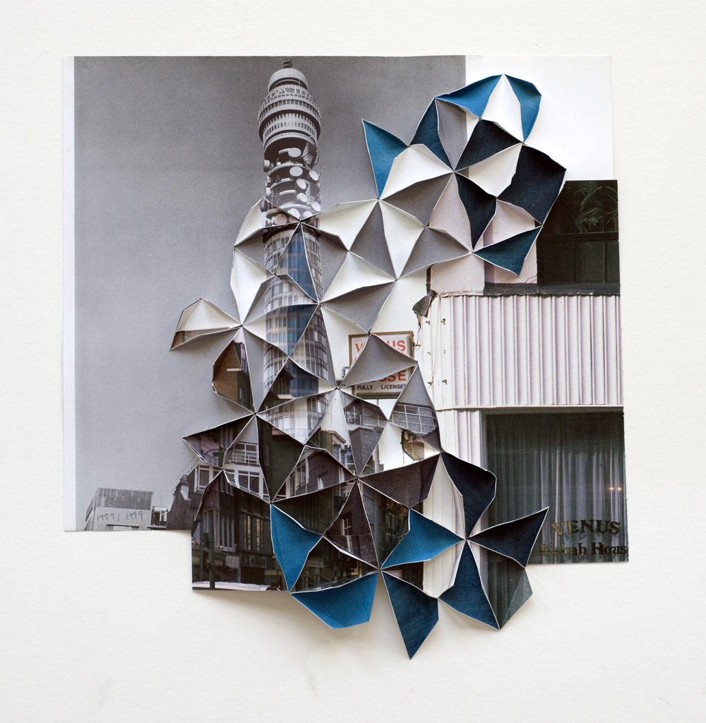 'Post Office Tower 1989 1999' 27 x 25 cm, 2009