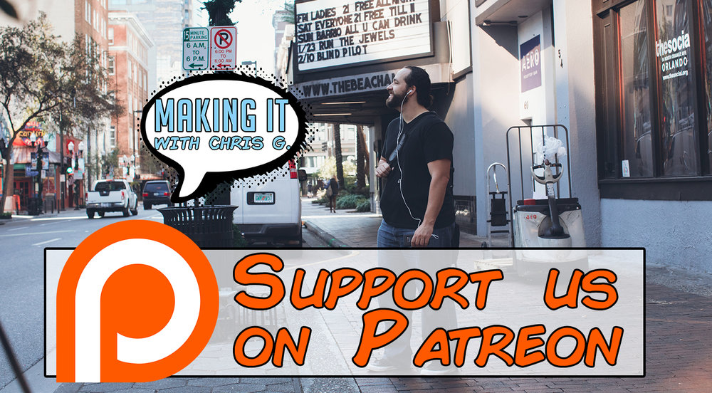 Help us create more content & become a subscriber on patreon - & we will create more podcasts, blogs, lessons, & videos that help you get one step closer to making it