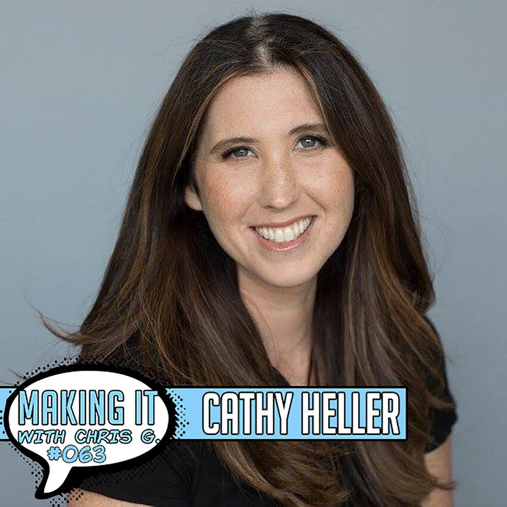 Cathy Heller, Sync Licensing Agent, Entrepreneur, Podcaster