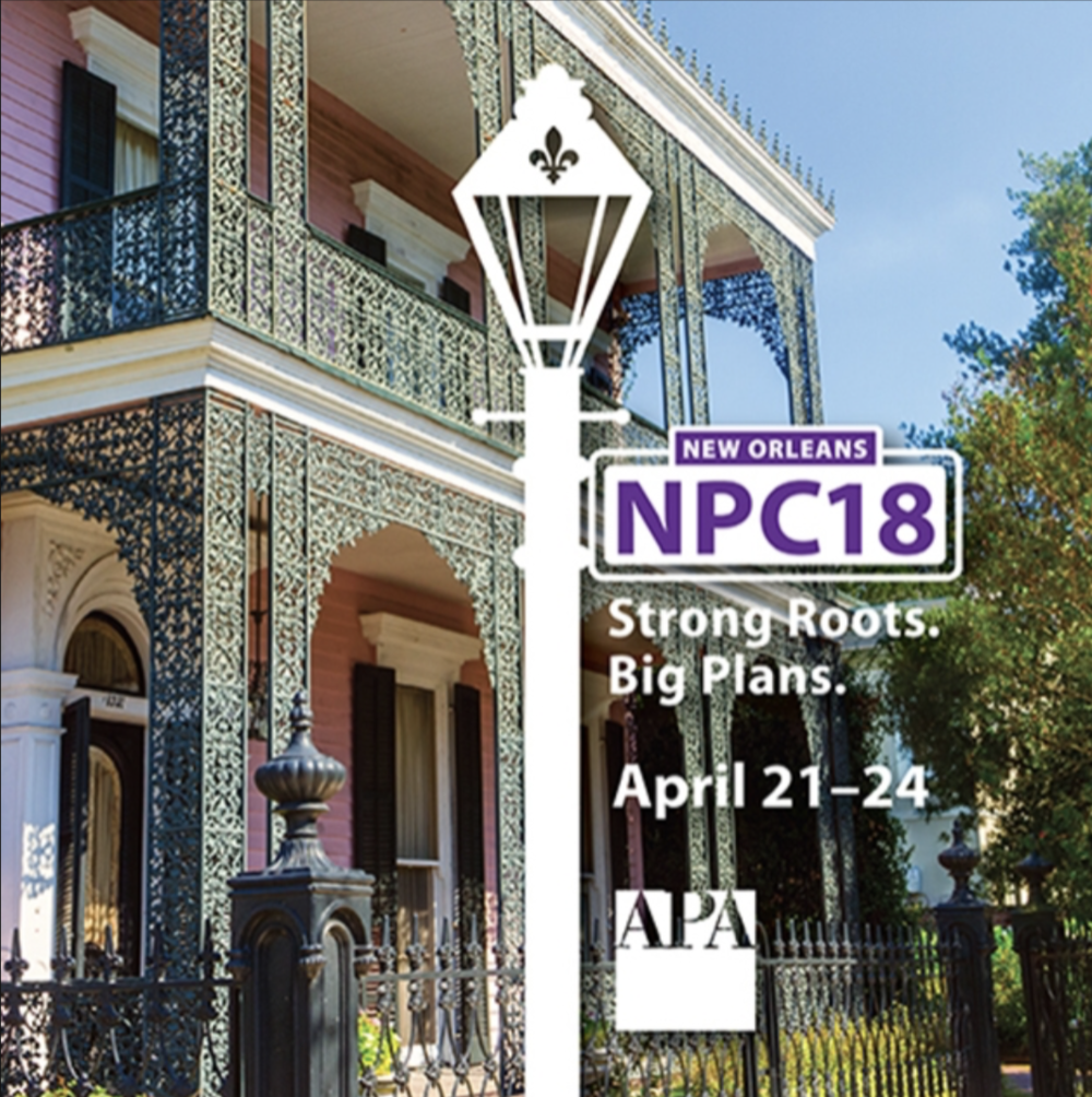 Amit Price Patel to speak on Designing for Density at this years APA conference in New Orleans - April 2018