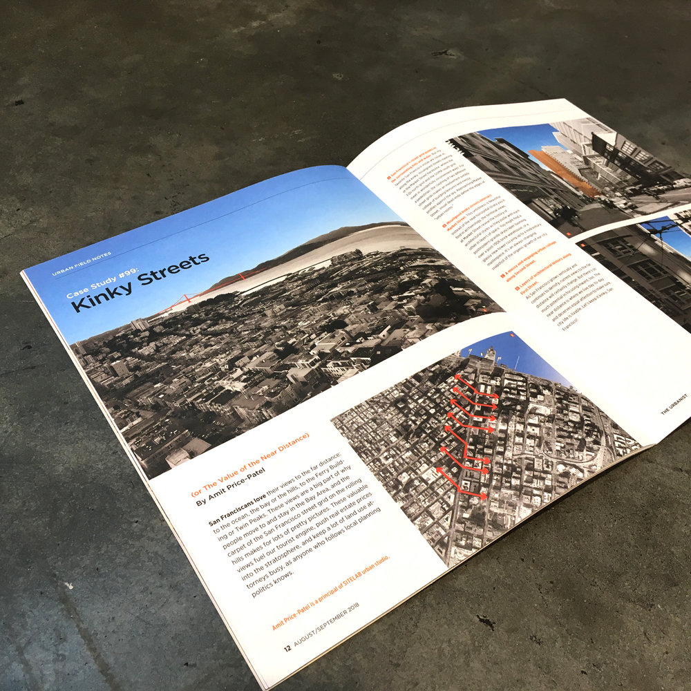 Have you been caught by surprise by the vistas on Market Street? Principal Amit Price Patel shares his  Urban Field Notes  on kinky streets in a recent issue of The Urbanist.