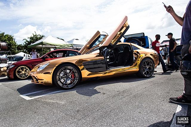 Mercedes-Benz SLR McLaren;; Last weekend at @carsandcoffeepalmbeach - #carsandcoffeepalmbeach #palmbeachoutlets #mercedes #mercedesmclaren #mercedesslr