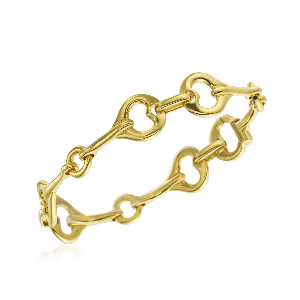 Yellow Gold Gallop Bracelet