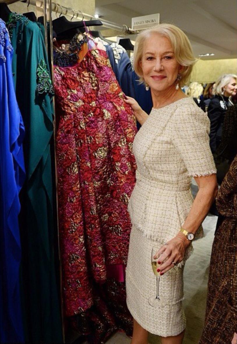 Midi Dress | Photo: @helenmirrendaily